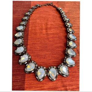 BAUBLEBAR Necklace Opalescent Rhinestone Chunky